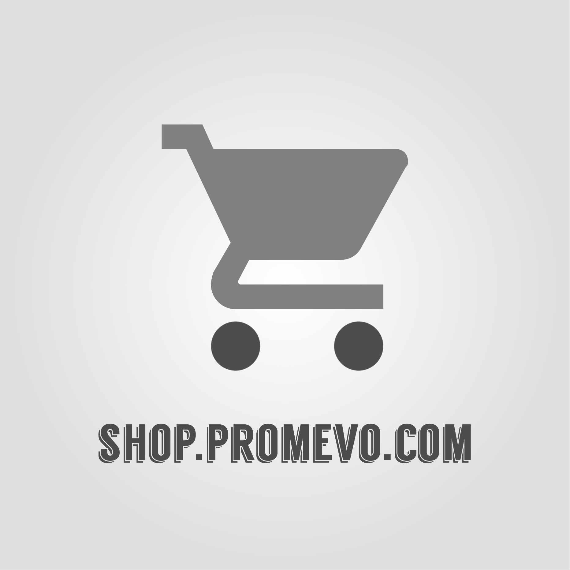 Cart icon with shop.promevo.com text